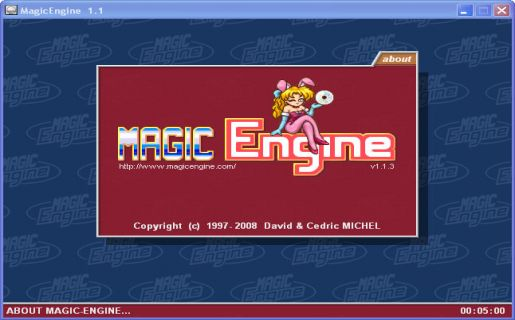 Magic Engine emulator
