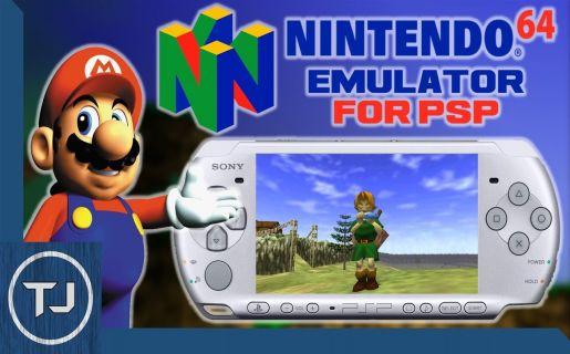 daedalusx64 n64 emulator psp
