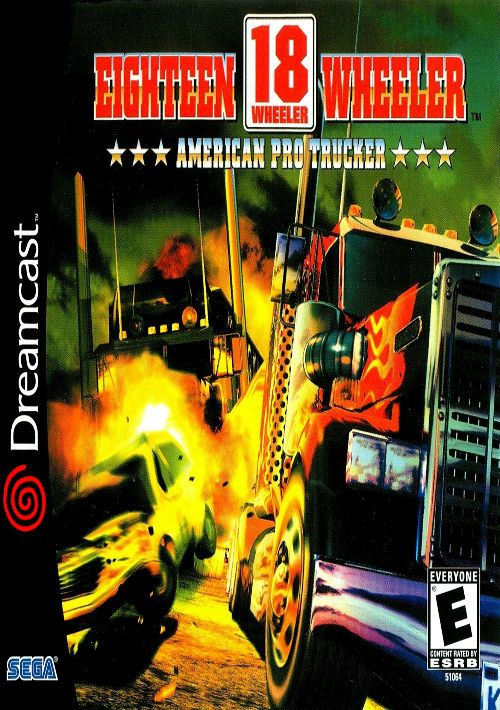 18 Wheeler American Pro Trucker ROM Download for Sega