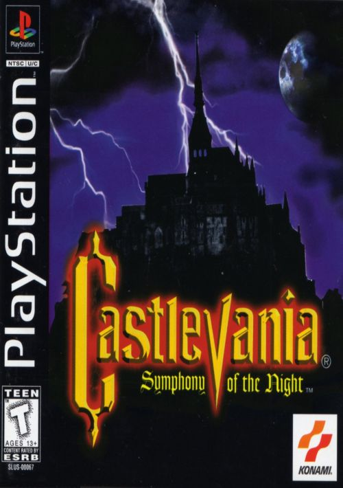 Castlevania - Symphony Of The Night ROM Download for PSX