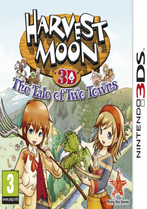 Harvest Moon: The Tale of Two Towns ROM Download for NDS