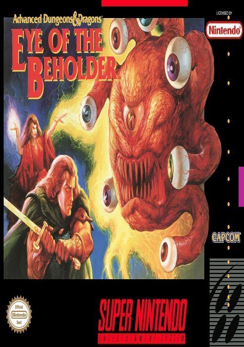AD&D - Eye Of The Beholder ROM Download for SNES | Gamulator
