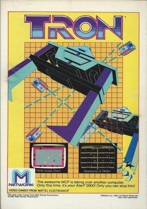 Adventures Of Tron (1983) (Mattel) ROM Download for Atari