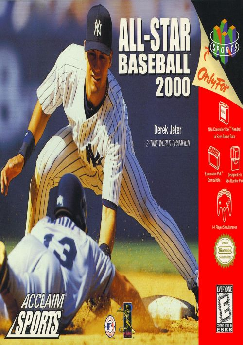 All-Star Baseball 2000 ROM Download for N64 | Gamulator