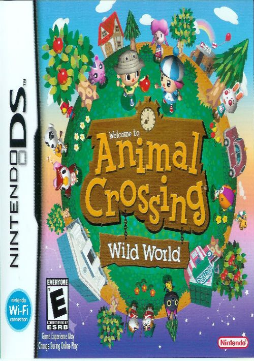 Animal Crossing - Wild World (v01) ROM Download for NDS ...