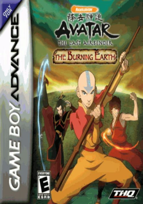 Avatar the last airbender rom download for gba | gamulator.