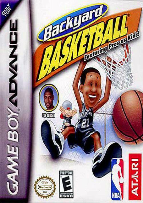 Backyard Basketball GBA ROM Download for GBA | Gamulator
