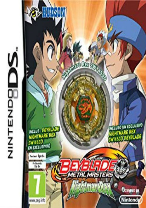 MASTER NDS TÉLÉCHARGER BEYBLADE REX METAL NIGHTMARE