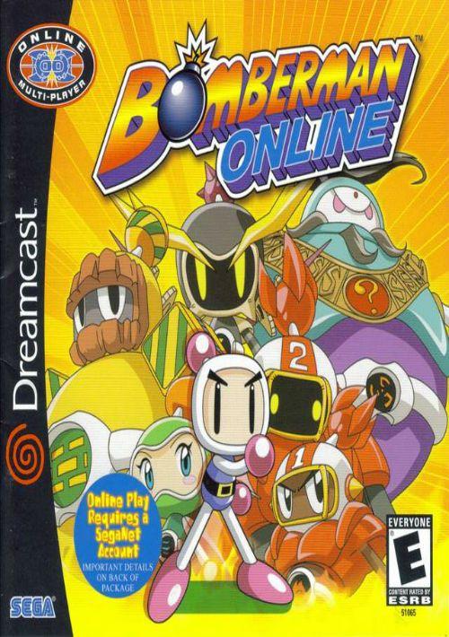 Bomberman Online ROM Download for Sega Dreamcast   Gamulator