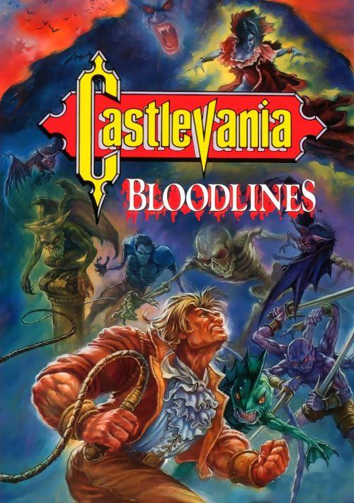 sega genesis castlevania bloodlines