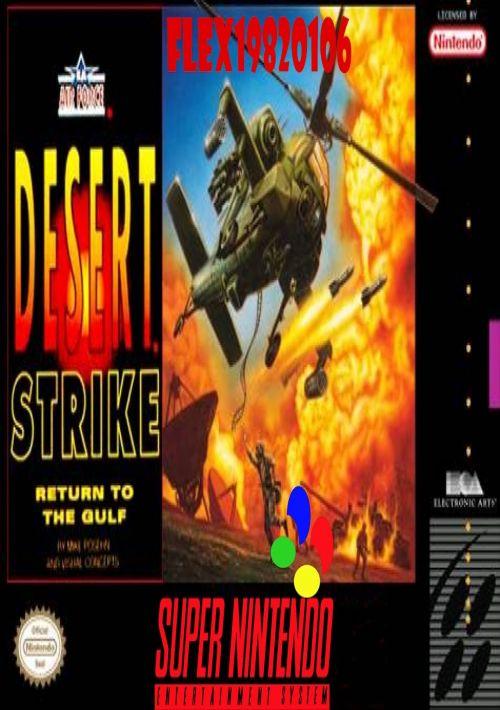 Desert Strike Return To The Gulf Rom Download For Snes Gamulator