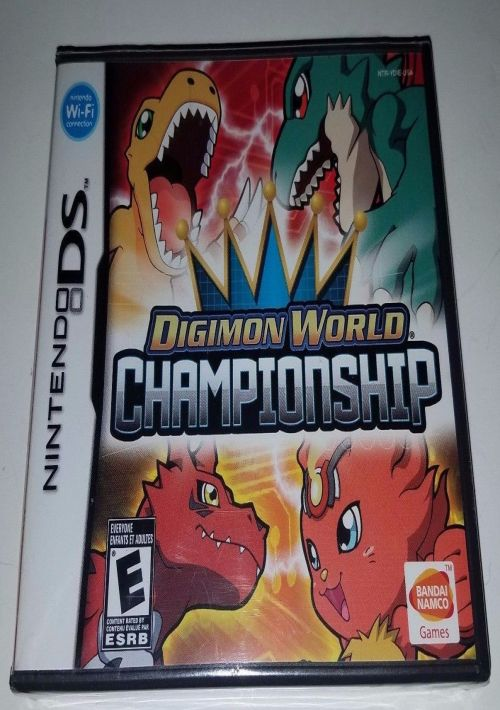 Digimon World Championship ROM Download for NDS | Gamulator