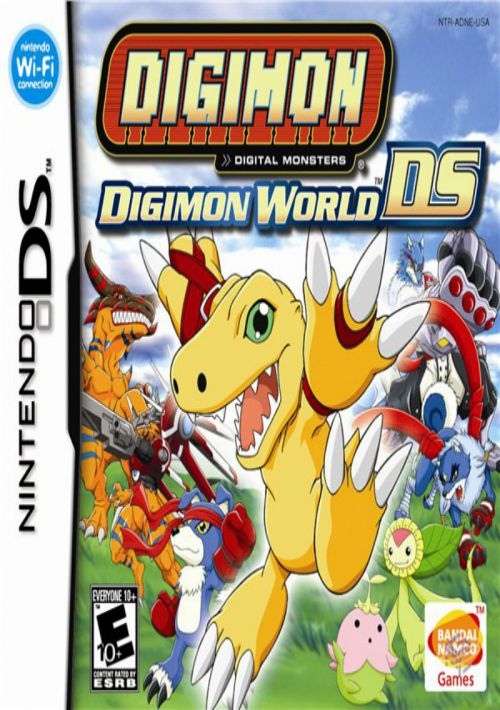 Digimon World DS ROM Download for NDS | Gamulator