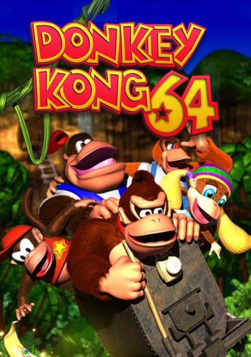 Donkey Kong 64 ROM Download for N64 | Gamulator