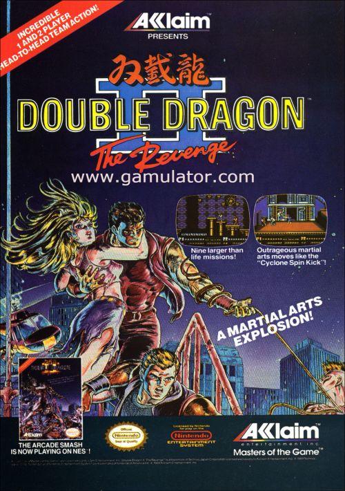 double dragon 2 nes game online