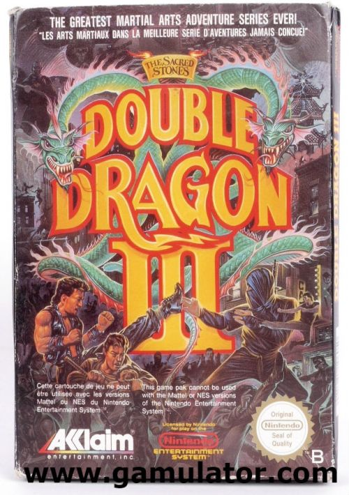Double Dragon Iii The Sacred Stones Rom Download For Nes Gamulator