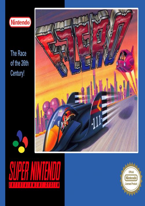 F-Zero ROM Download for SNES | Gamulator