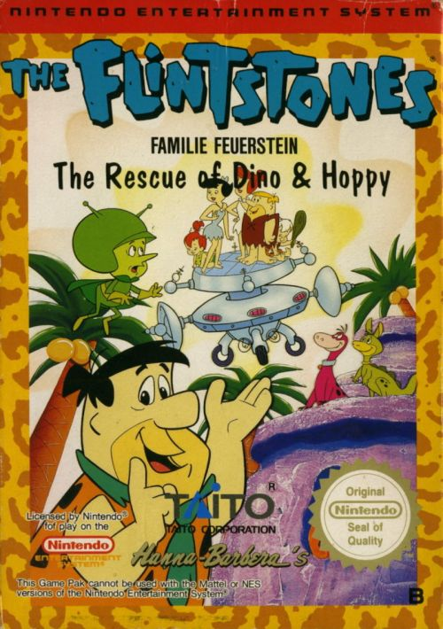 flintstones-the-rescue-of-dino-hoppy-the-nes-cover - Mostrar Mensajes - Kökabiel