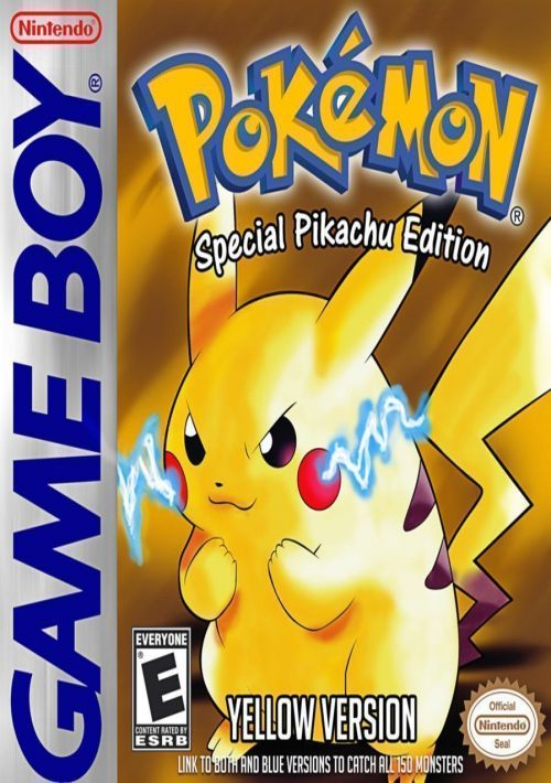 Pokemon Yellow Version Descargar Para Gameboy Color Gbc Gamulator
