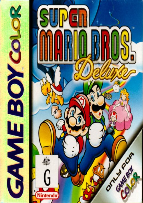 Super Mario Bros  Deluxe ROM Download for GBC | Gamulator