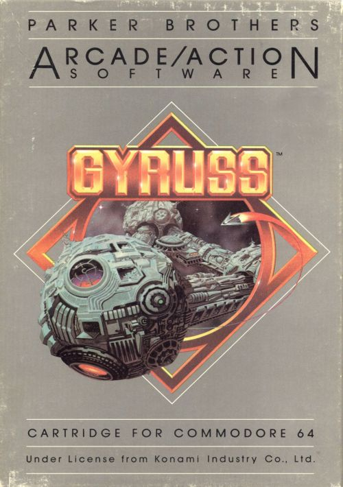 Gyruss ROM Download for C64 Preservation   Gamulator