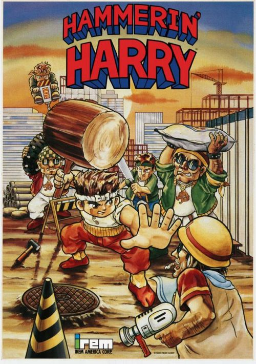 Hammerin' Harry ROM Download for Mame | Gamulator