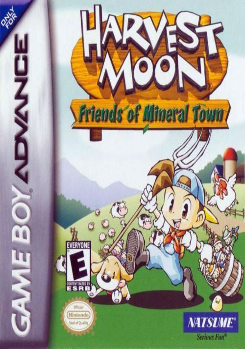 Harvest Moon: Friends of Mineral Town ROM Download for GBA