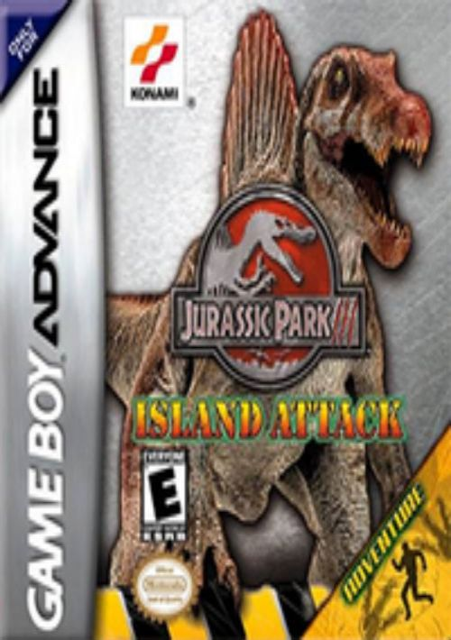 Jurassic Park III - Island Attack ROM Download for GBA