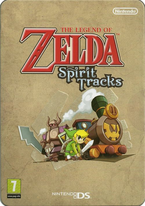 Legend of Zelda - Spirit Tracks (EU) ROM Download for NDS | Gamulator