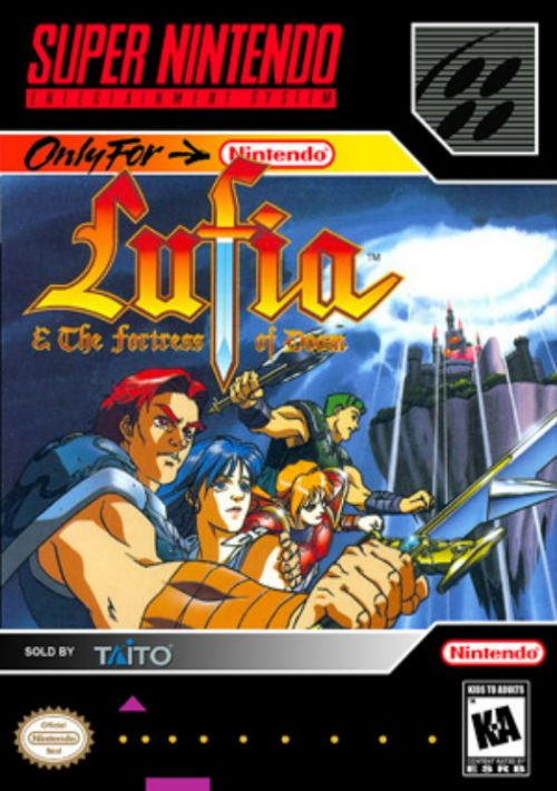 Lufia & The Fortress Of Doom ROM Download for SNES | Gamulator