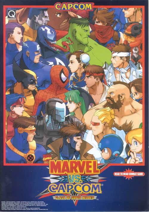 Marvel Vs  Capcom: Clash of Super Heroes ROM Download for Mame