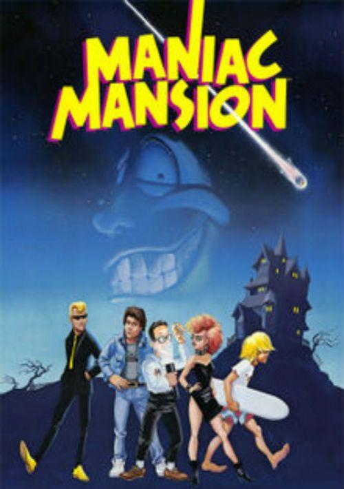 Maniac Mansion (Floppy DOS v2 Enhanced) Game ROM Download