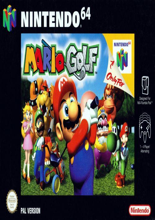 Mario Golf ROM Download for N64   Gamulator