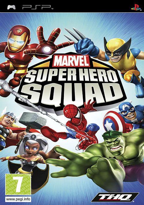 Marvel Super Hero Squad ROM Download For PSP