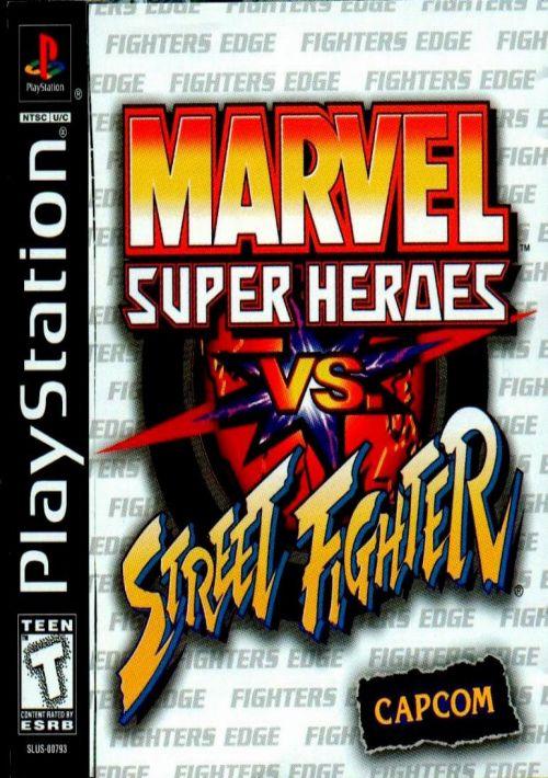 Marvel Super Heroes Vs Street Fighter ROM Download for PSX