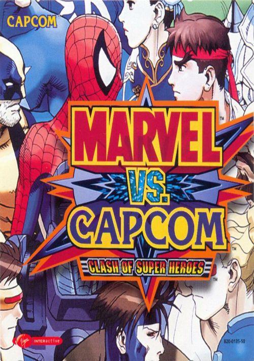 MARVEL VS  CAPCOM - CLASH OF SUPER HEROES (EUROPE) ROM