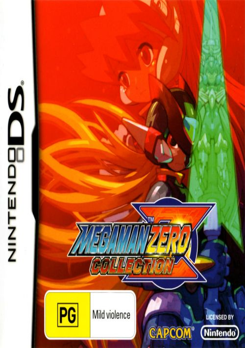 MegaMan Zero Collection ROM Download for NDS   Gamulator