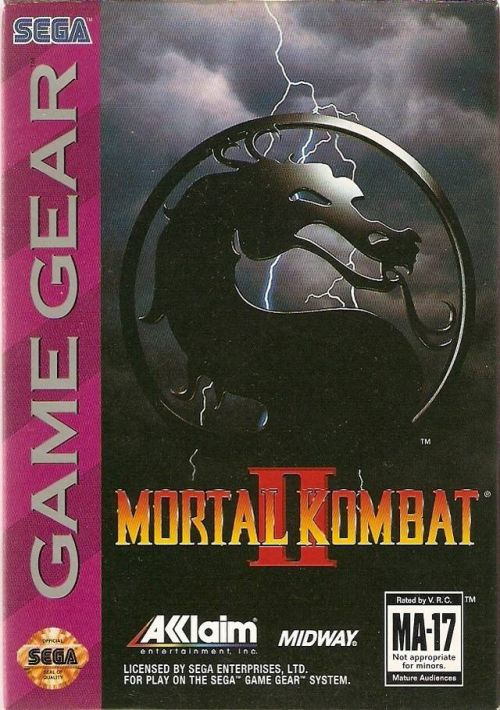 Mortal Kombat II ROM Download for Sega Game Gear | Gamulator