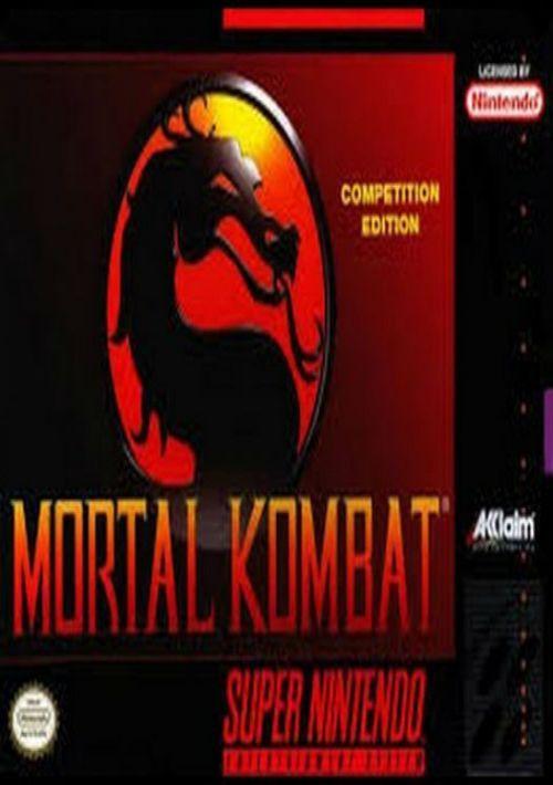 Mortal Kombat Turbo (Hack) ROM Download for SNES   Gamulator
