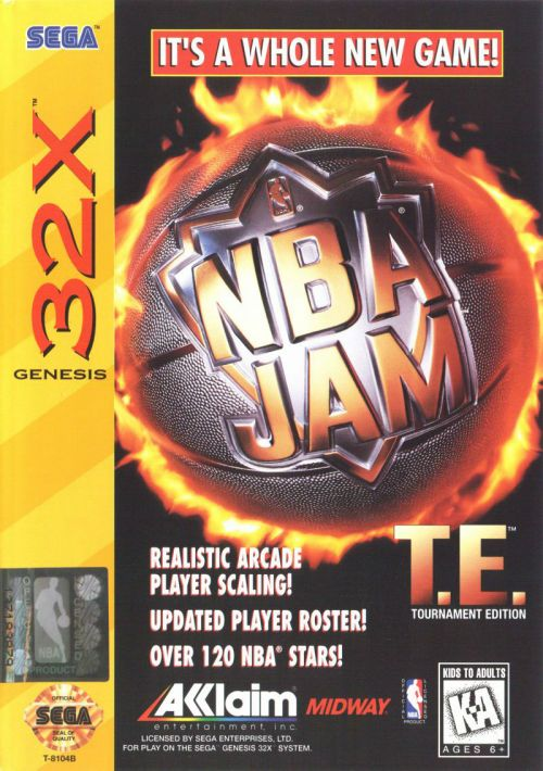 NBA Jam - Tournament Edition ROM Download for Sega 32X