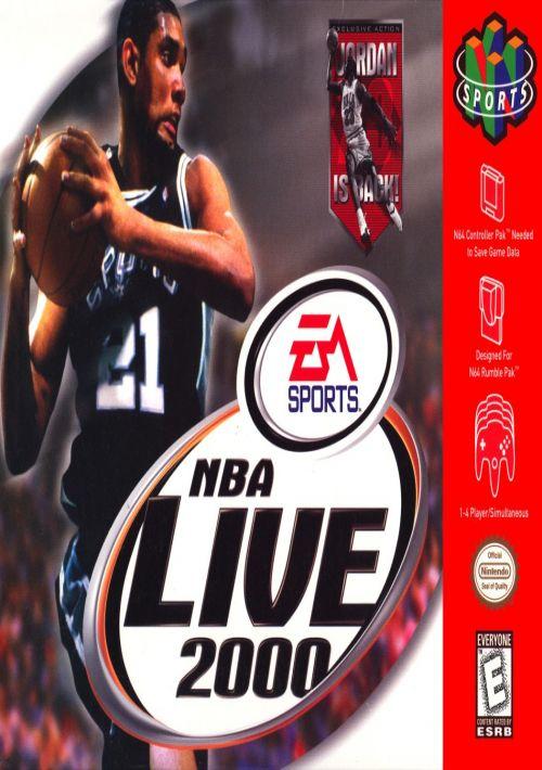 NBA Live 2000 ROM Download for N64   Gamulator