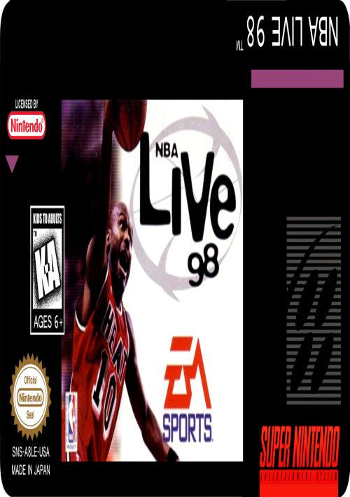 NBA Live '98 ROM Download for SNES   Gamulator