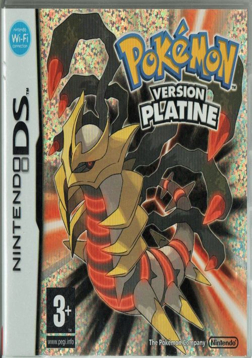 T l charger pokemon version platine nds fr - Pokemon legendaire platine ...