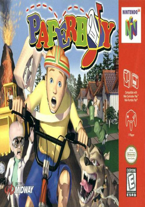 Paperboy ROM Download for N64 | Gamulator
