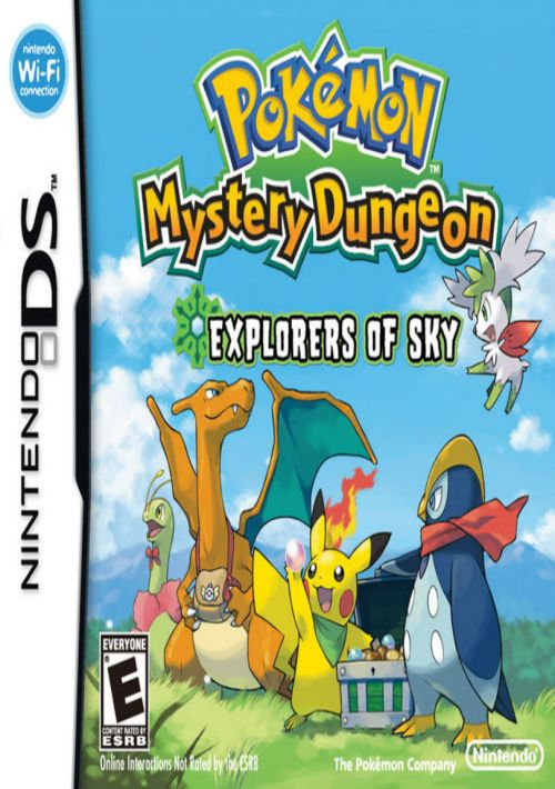 Pokemon Mystery Dungeon - Explorers of Sky (EU) ROM Download for NDS