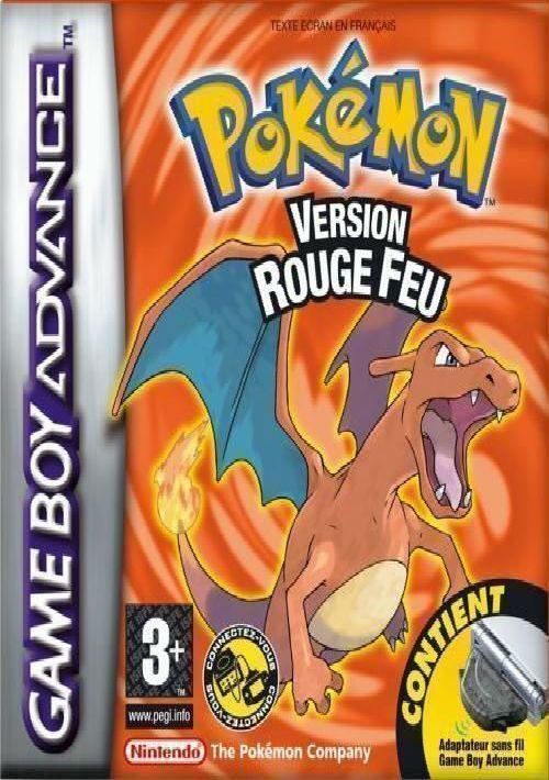 Pokemon Rouge Feu ROM Download for GBA | Gamulator