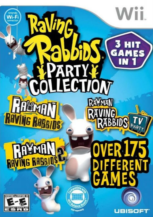 Raving Rabbids Party Collection Rom Download For Nintendo Wii