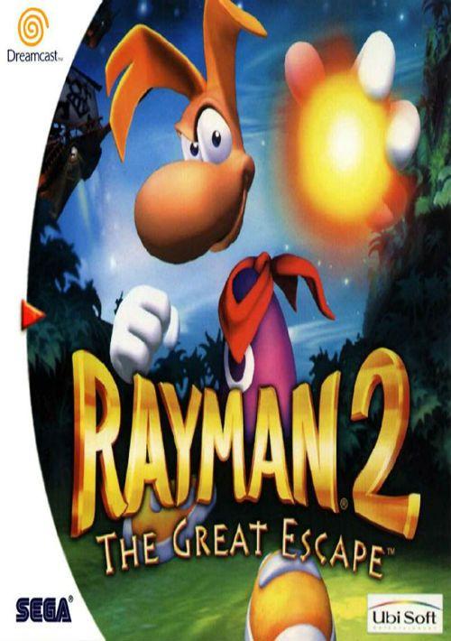 Rayman 2 The Great Escape (E) ROM Download for Sega Dreamcast