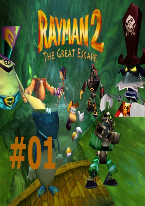 Rayman 2 The Great Escape Rom Download For N64 Gamulator