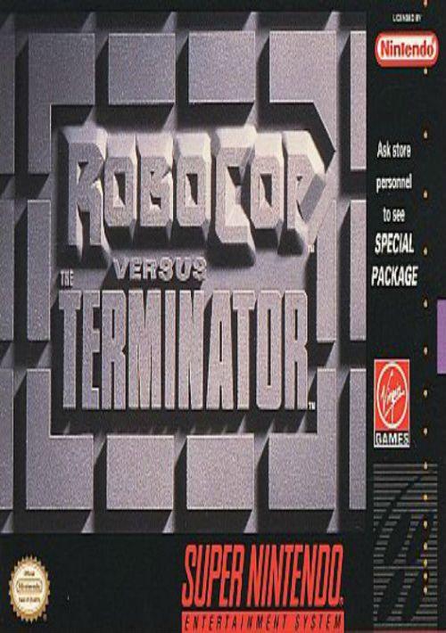 Robocop Versus The Terminator ROM Download for SNES | Gamulator